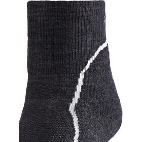 Icebreaker Hike+ Light Mini - Chaussettes Femme - gris/noir